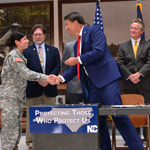 Gov. McCrory signed House Bill 371 allowing designated NCNG members to carry concealed weapons in public facilities